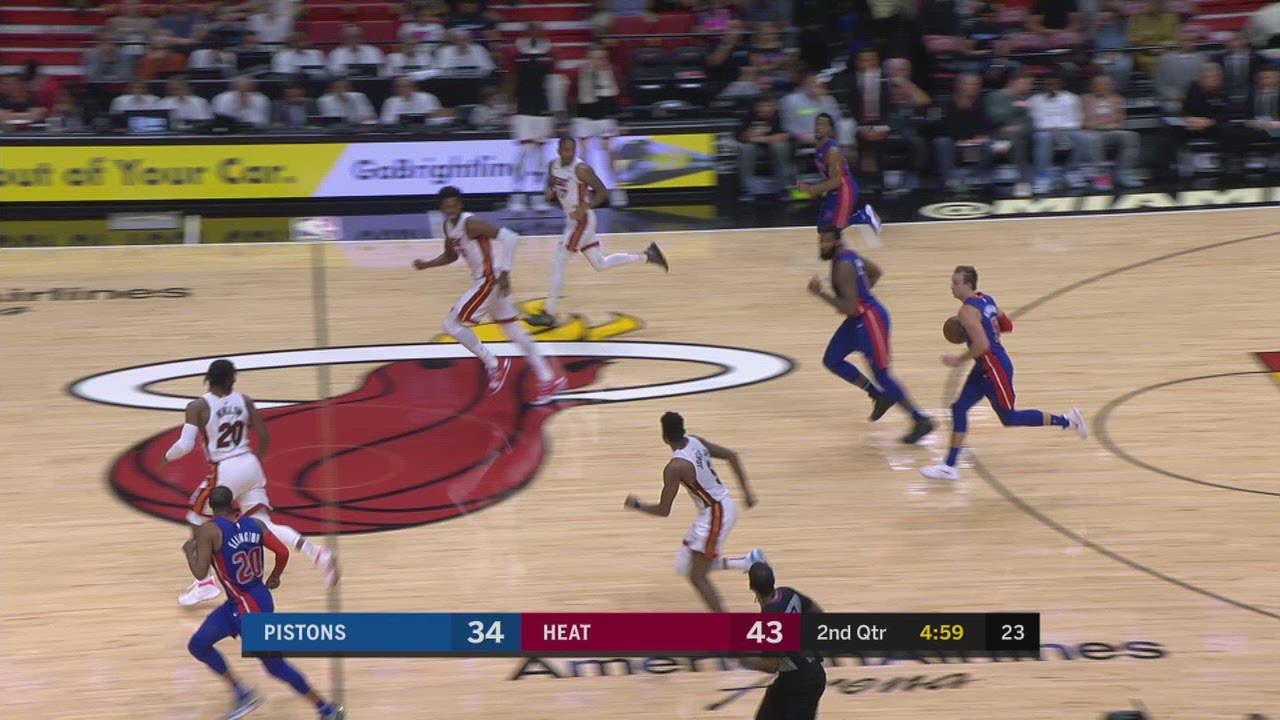 Two-Point/Three-Point Field Goal: Pistons @ Heat